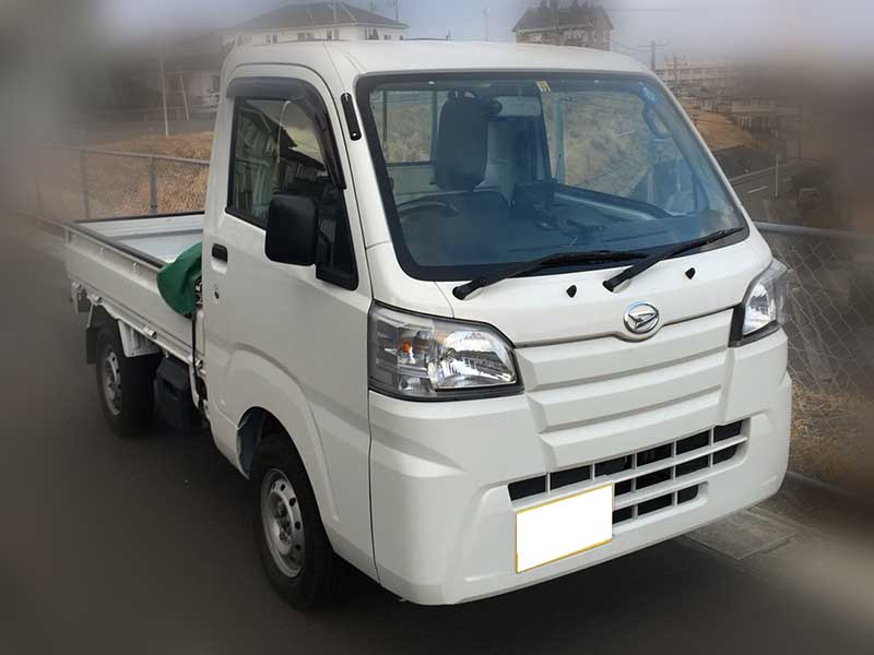 車種ダイハツ キャリートラック 走行距離 8,000km 買取価格70万円