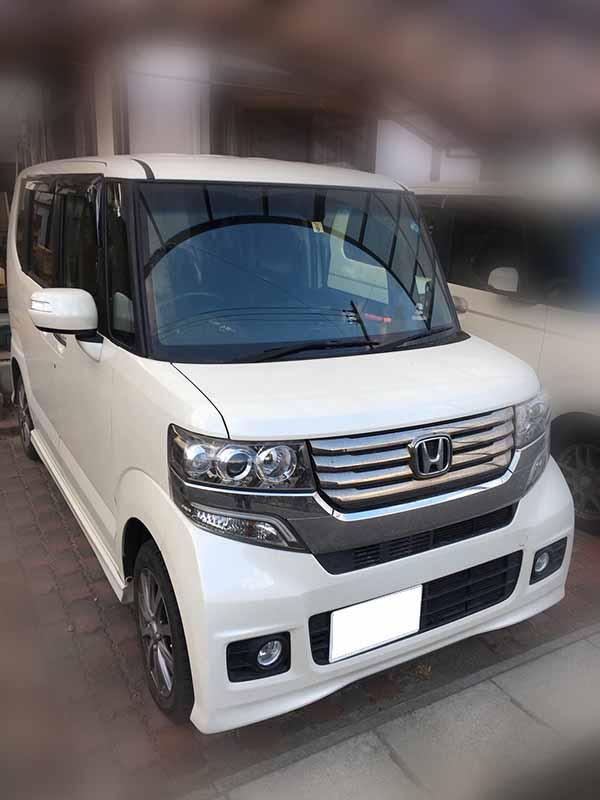 車種 ホンダ N BOX カスタム買取価格130万円